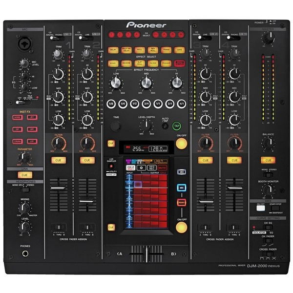 DJ микшерный пульт Pioneer DJM-2000NXS микшер pioneer djm 350 dj usb