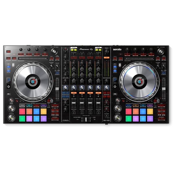 DJ контроллер Pioneer DDJ-SZ2 freeshpping 8 unit 3 10w rgbw 4in1 freedom dj led par cans iron silver case dmx wash light pro dj lights 7 channels big lens