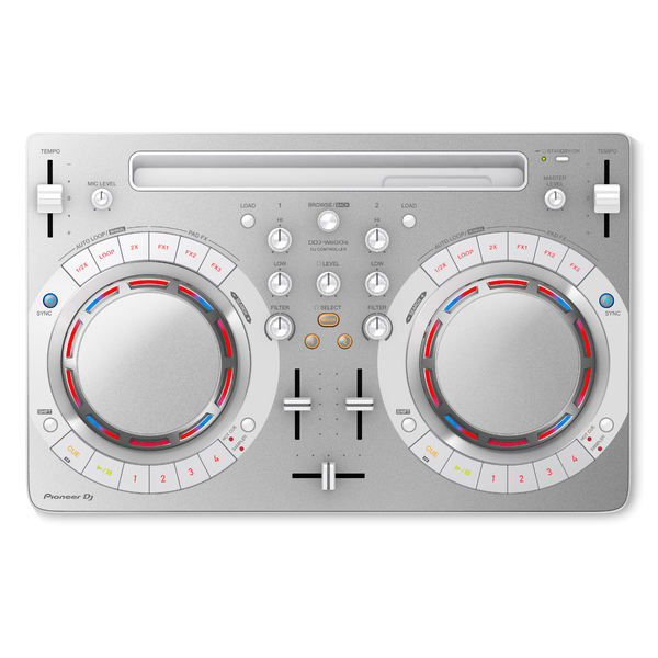 DJ контроллер Pioneer DDJ-WEGO4-W White pioneer ddj wego4 w