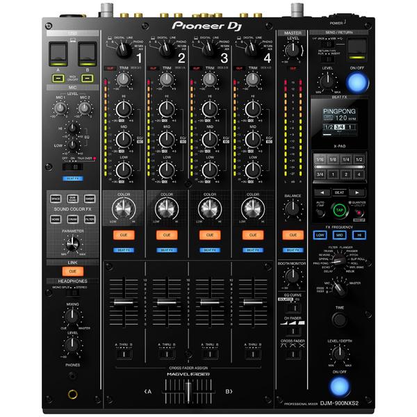 DJ микшерный пульт Pioneer DJM-900NXS2 микшерный пульт pioneer djc b