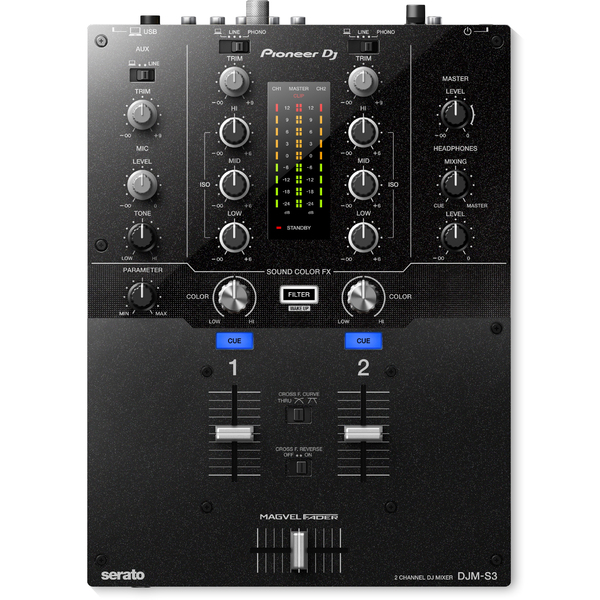 DJ микшерный пульт Pioneer DJM-S3 микшерный пульт pioneer djc b