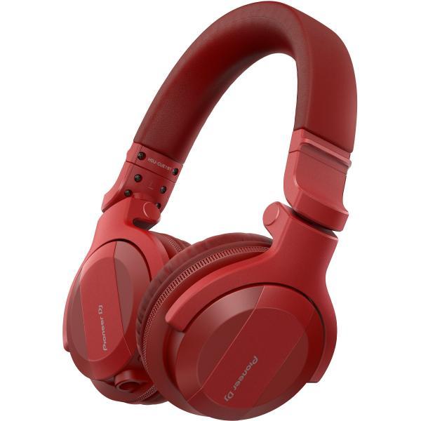 Фото - Беспроводные наушники Pioneer DJ HDJ-CUE1BT-R Red охватывающие наушники pioneer dj hdj x5 silver
