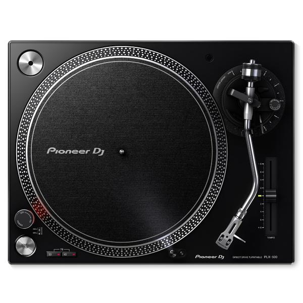 DJ виниловый проигрыватель Pioneer PLX-500-K Black pioneer pl 30 k проигрыватель виниловых дисков