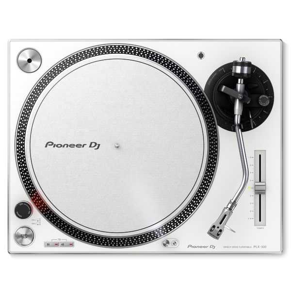 DJ виниловый проигрыватель Pioneer PLX-500-W White