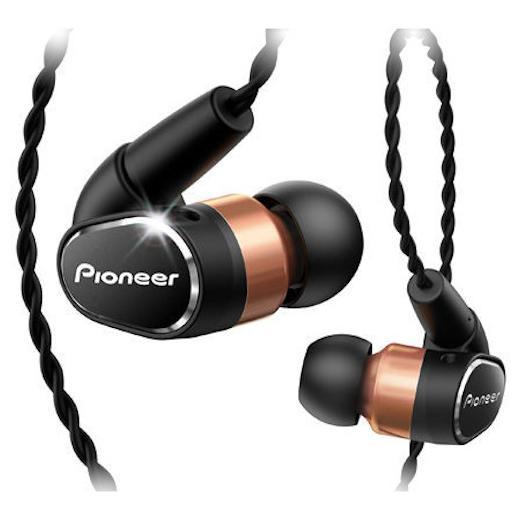 Внутриканальные наушники Pioneer SE-CH9T Black/Gold