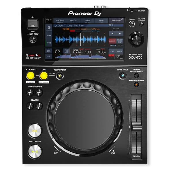DJ CD проигрыватель Pioneer XDJ-700 dj cd проигрыватель pioneer cdj tour1