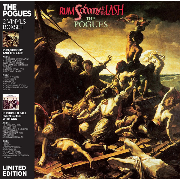 Pogues Pogues - If I Should Fall From Grace With God / Rum, Sodomy And The Lash (2 LP) the pogues peace and love lp