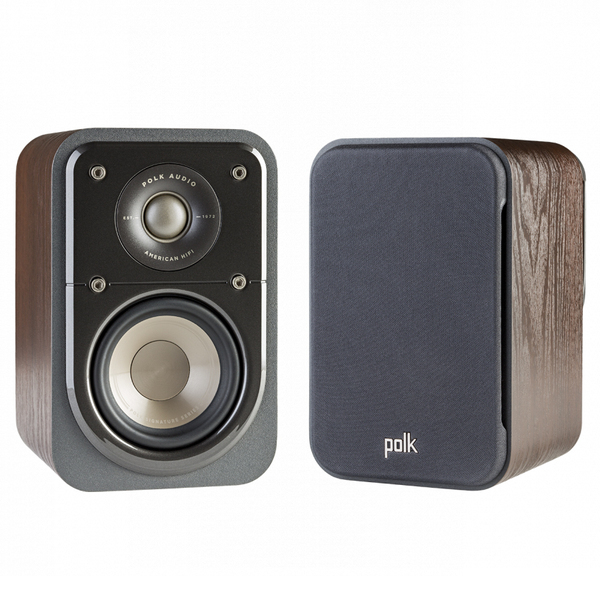 Полочная акустика Polk Audio S10 Walnut акустика центрального канала paradigm prestige 45c black walnut