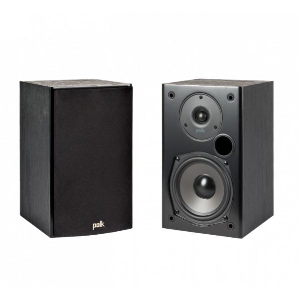 Полочная акустика Polk Audio T15 Black гарнитура polk audio 4 shot blue