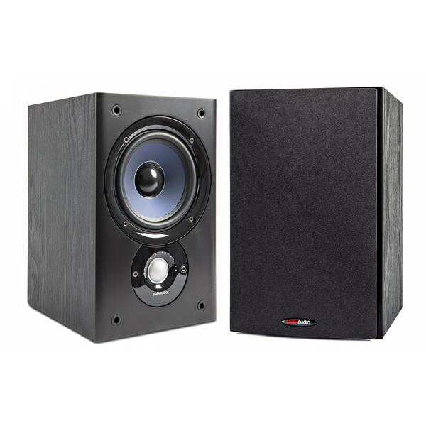 Полочная акустика Polk Audio T300 Black полочная акустика polk audio tl2 white