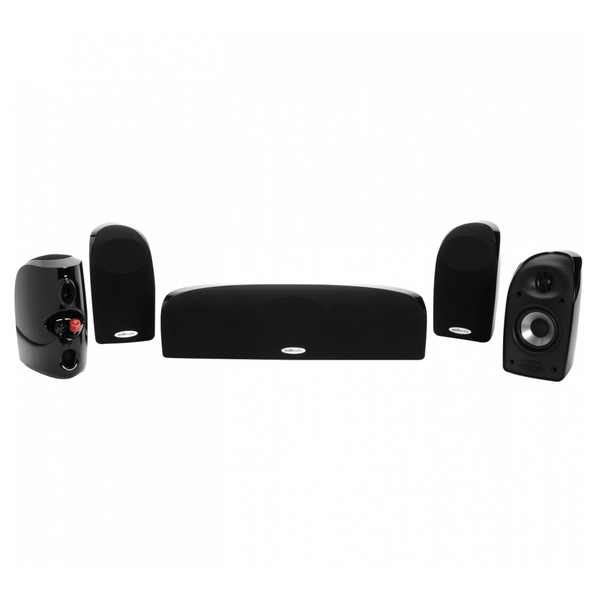 Комплект акустики 5.0 Polk Audio TL150 Black комплекты акустики mt power elegance 3 0 rear center black