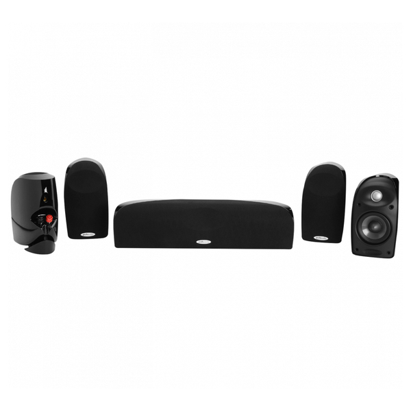 Комплект акустики 5.0 Polk Audio TL250 Black акустика центрального канала polk audio tl3 center black