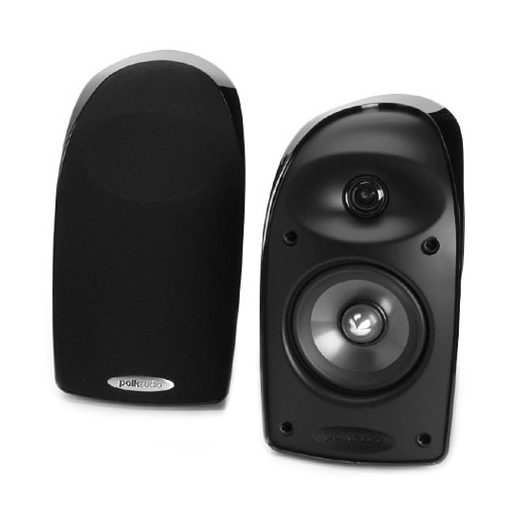 Полочная акустика Polk Audio TL3 Black акустика центрального канала polk audio tl3 center black