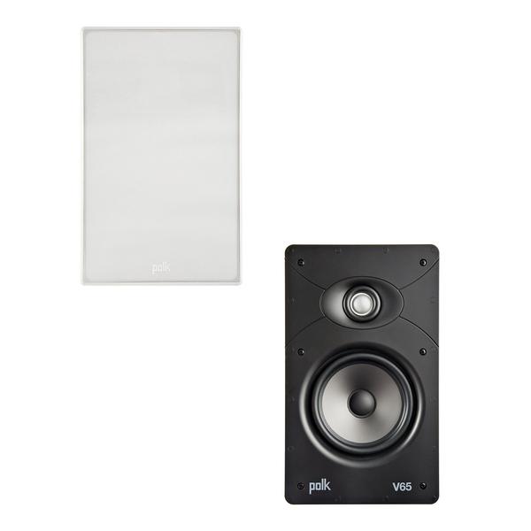 Встраиваемая акустика Polk Audio V65 цена