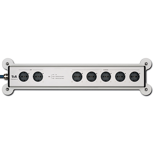 Сетевой фильтр T+A Power Bar 2+5 HD Silver пилки для лобзика bosch t 101 ao hss 5 шт 2 608 630 031