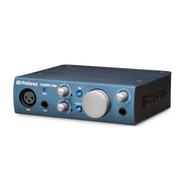 Внешняя студийная звуковая карта PreSonus AudioBox iOne внешняя студийная звуковая карта presonus audiobox 1818vsl