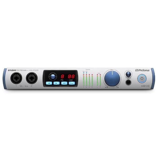 Внешняя студийная звуковая карта PreSonus Studio 192 Mobile изображение