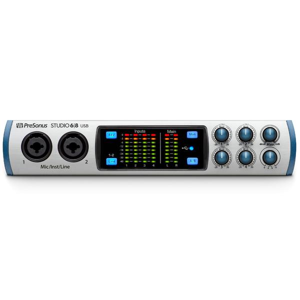 Внешняя студийная звуковая карта PreSonus Studio 68 внешняя студийная звуковая карта zoom u 22