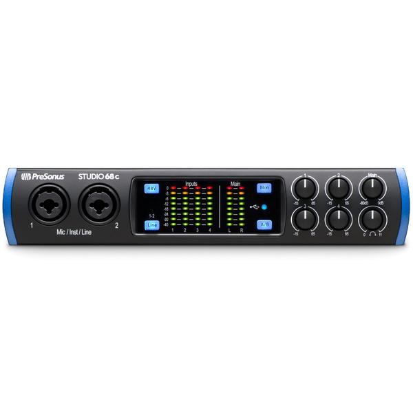 Аудиоинтерфейс PreSonus Studio 68C аудиоинтерфейс presonus audiobox usb 96 25th anniversary edition