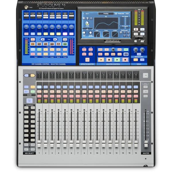Цифровой микшерный пульт PreSonus StudioLive 16 Series III аналоговый микшер presonus studiolive ar16 usb