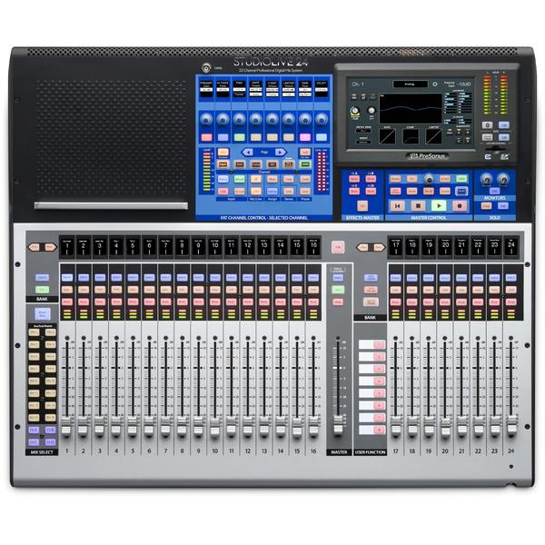 Цифровой микшерный пульт PreSonus StudioLive 24 Series III аналоговый микшер presonus studiolive ar16 usb
