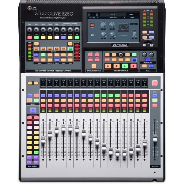 Цифровой микшерный пульт PreSonus StudioLive 32SC