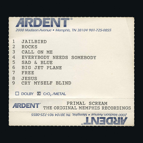 Primal Scream Primal Scream - Give Out But Don't Give Up - The Original Memphis Recordings (2 Lp, 180 Gr) цена и фото