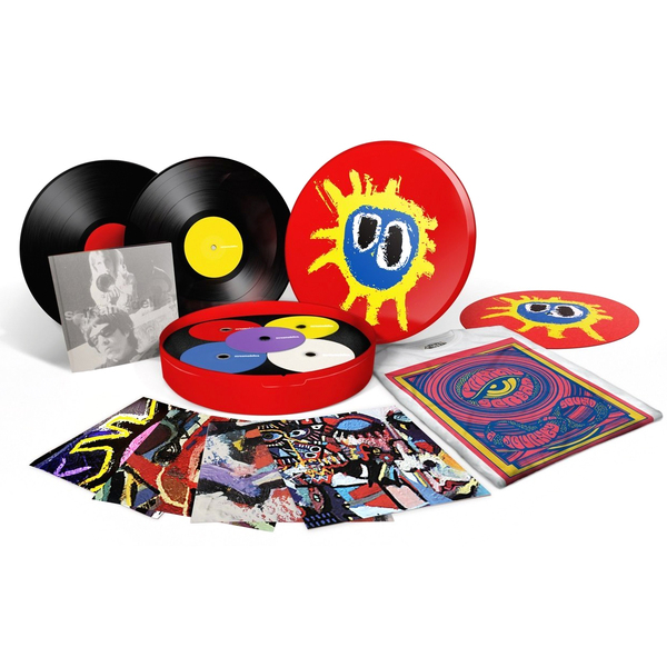 Primal Scream Primal Scream - Screamadelica (20th Anniversary) (2 Lp+4 Cd+dvd) цены онлайн
