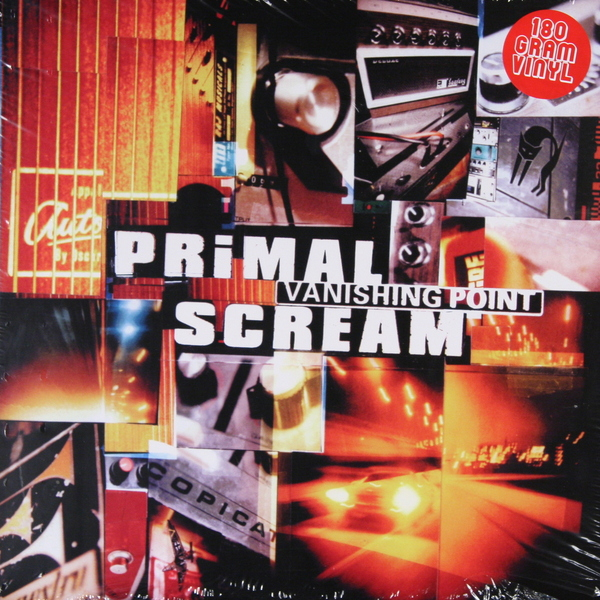 Фото Primal Scream Primal Scream - Vanishing Point (2 Lp, 180 Gr)
