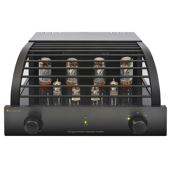 Ламповый стереоусилитель PrimaLuna ProLogue Premium Integrated (EL34) Black primaluna prologue premium preamplifier black