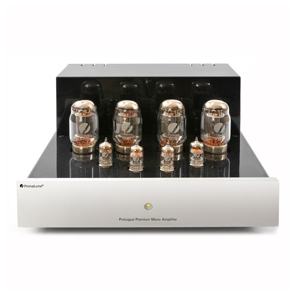 Ламповый моноусилитель мощности PrimaLuna ProLogue Premium Mono (EL34) Silver ламповый стереоусилитель cayin cs 100a el34 silver