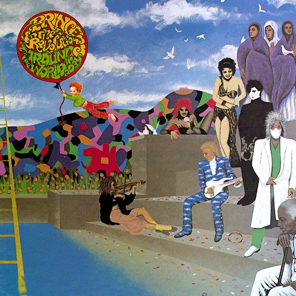 Prince Prince - Around The World In A Day kink light подвесная светодиодная люстра kink light тор 08220 01