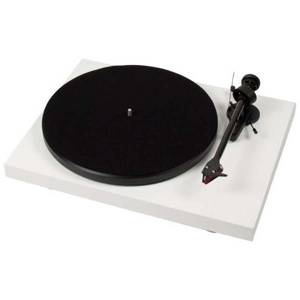 Виниловый проигрыватель Pro-Ject Debut Carbon DC White (2M-Red) pro ject debut carbon dc walnut 2m red