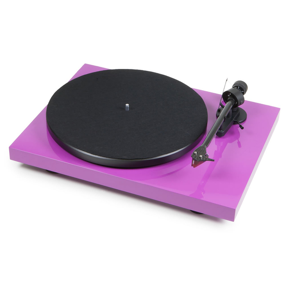Виниловый проигрыватель Pro-Ject Debut Carbon DC Purple (2M-Red) виниловый проигрыватель pro ject debut carbon dc green 2m red
