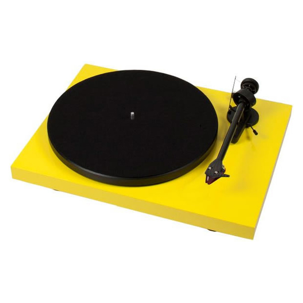 Виниловый проигрыватель Pro-Ject Debut Carbon DC Yellow (2M-Red) pro ject debut carbon dc walnut 2m red