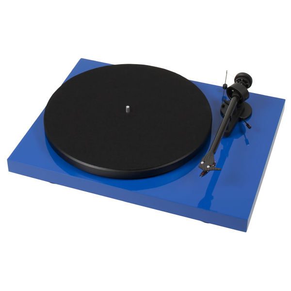 Виниловый проигрыватель Pro-Ject Debut Carbon DC Phono USB Blue (OM-10) юбка quelle gloss 1020084