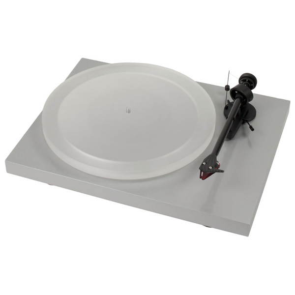 Виниловый проигрыватель Pro-Ject Debut Carbon DC Esprit Light Grey (2M-Red)