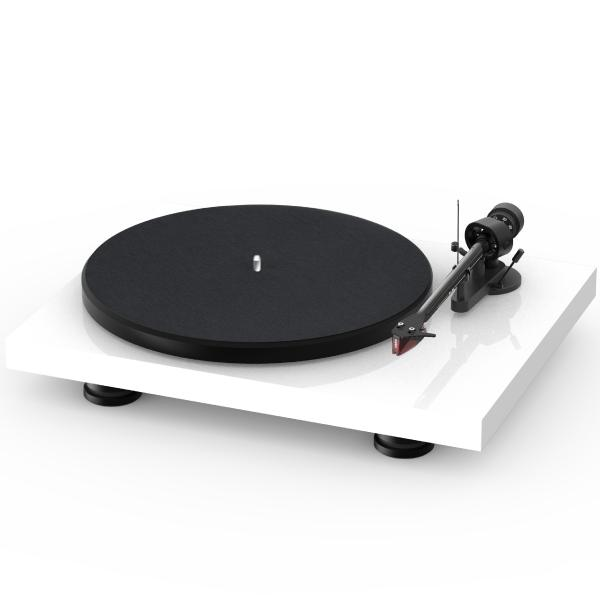 Виниловый проигрыватель Pro-Ject Debut Carbon EVO High Gloss White (2M-Red)