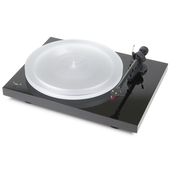 Виниловый проигрыватель Pro-Ject Debut Carbon RecordMaster HiRes Piano Black (2M-Red) pro ject debut carbon dc walnut 2m red
