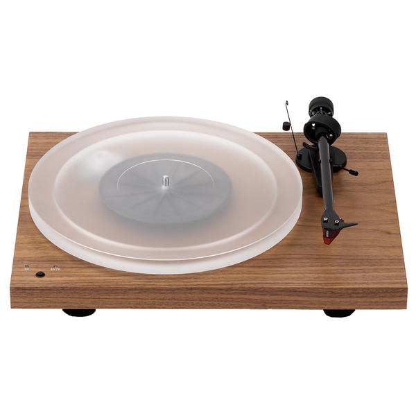 Виниловый проигрыватель Pro-Ject Debut Carbon RecordMaster HiRes Walnut (2M-Red) виниловый проигрыватель pro ject debut carbon sb dc esprit light green 2m red