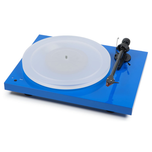 Виниловый проигрыватель Pro-Ject Debut Carbon SB DC Esprit Light Blue (2M-Red) виниловый проигрыватель pro ject debut carbon sb dc esprit light green 2m red