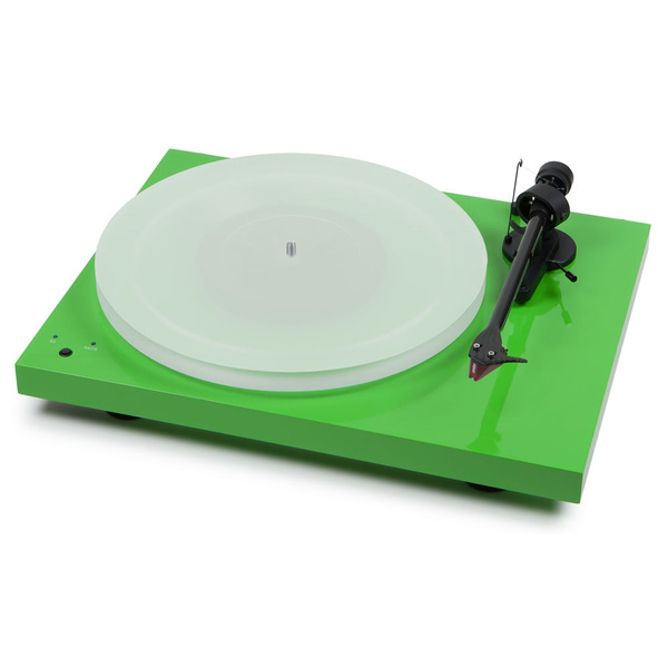 Виниловый проигрыватель Pro-Ject Debut Carbon SB DC Esprit Light Green (2M-Red) pro ject debut carbon esprit dc green ortofon 2m red