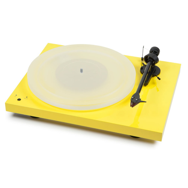 Виниловый проигрыватель Pro-Ject Debut Carbon SB DC Esprit Yellow (2M-Red) виниловый проигрыватель pro ject debut carbon sb dc esprit light green 2m red