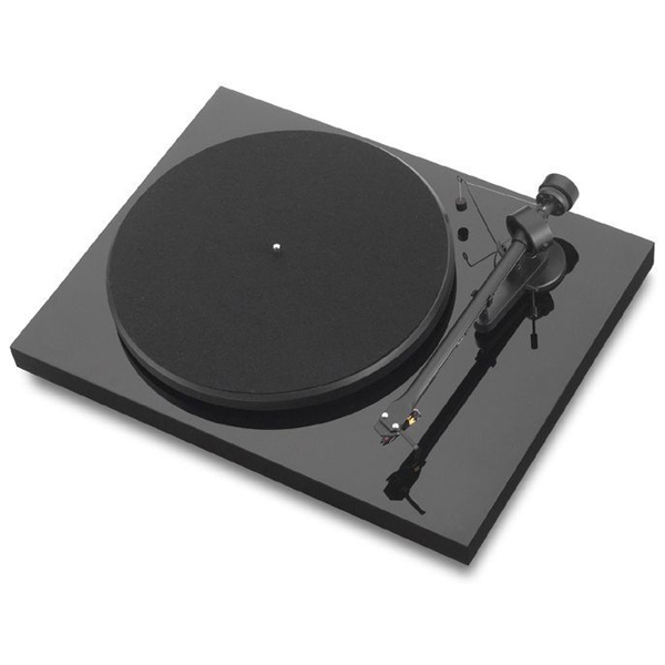 Виниловый проигрыватель Pro-Ject Debut III Phono USB Black (OM-10) pro ject vt e r red om 5e
