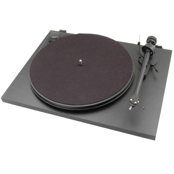 Виниловый проигрыватель Pro-Ject Essential II Black (OM-5e) виниловый проигрыватель pro ject juke box e piano black om 5e