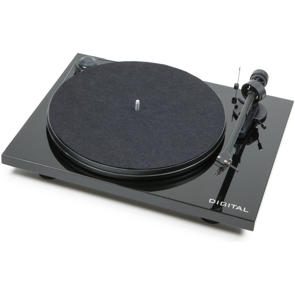 Виниловый проигрыватель Pro-Ject Essential II Digital Piano Black (OM-5e) pro ject vt e r red om 5e