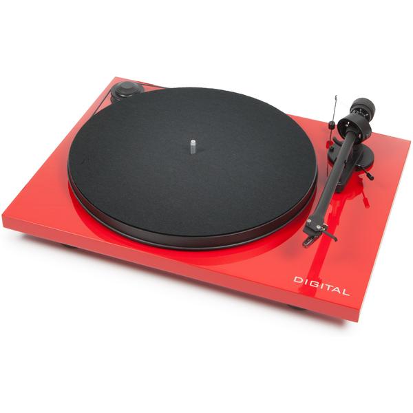 где купить Виниловый проигрыватель Pro-Ject Essential II Digital Red (OM-5e) по лучшей цене