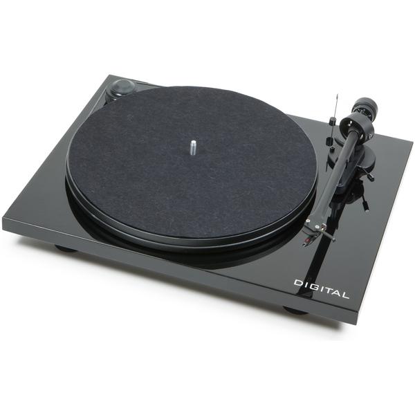 лучшая цена Виниловый проигрыватель Pro-Ject Essential II Digital Piano Black (OM-5e) (уценённый товар)