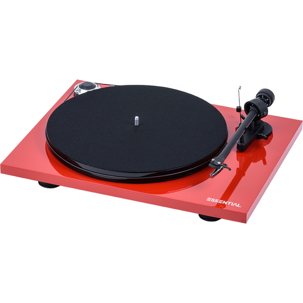 Виниловый проигрыватель Pro-Ject Essential III BT Red (OM-10) pro ject vt e r red om 5e