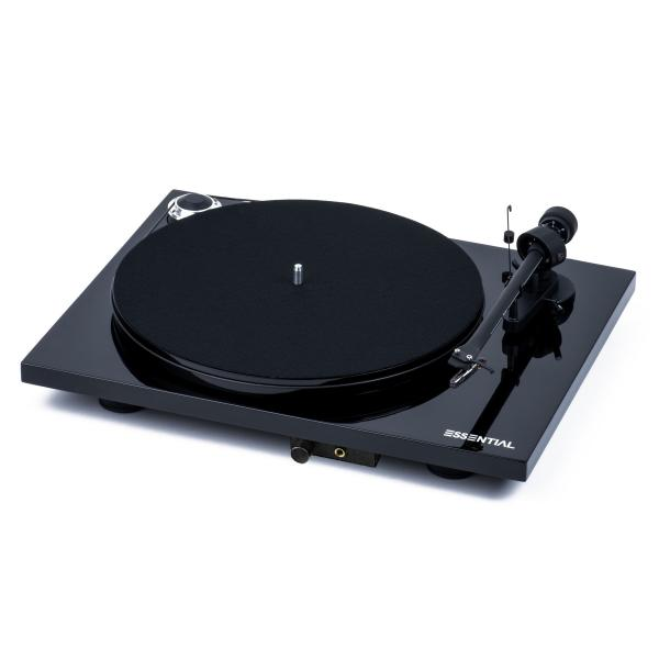 Виниловый проигрыватель Pro-Ject Essential III Headphone Piano Black (OM-10)